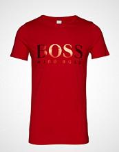 Boss Casual Wear Tefoil T-shirts & Tops Short-sleeved Rød BOSS CASUAL WEAR