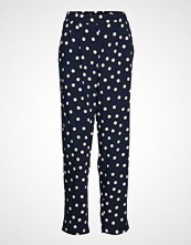 Betty Barclay Pants Casual 1/1 Length Bukser Med Rette Ben Blå BETTY BARCLAY