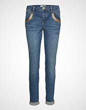 Mos Mosh Naomi Cube Jeans Skinny Jeans Blå MOS MOSH