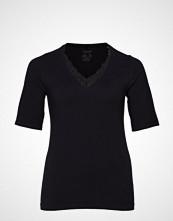Junarose Jrlia Seamless Ss T-Shirt - S T-shirts & Tops Short-sleeved Svart JUNAROSE