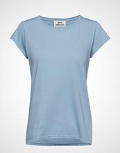 Mads Nørgaard Jersey Dip Teasy T-shirts & Tops Short-sleeved Blå MADS NØRGAARD