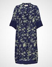 Noa Noa Dress Short Sleeve Kort Kjole Blå NOA NOA