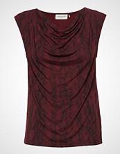 Rosemunde T-Shirt Ss Bluse Ermeløs Rød ROSEMUNDE