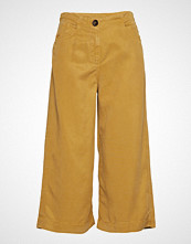 Mango Soft Straight Trousers Vide Bukser Gul MANGO