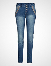 Cream Dicte Jeans Baiily Fit Skinny Jeans Blå CREAM