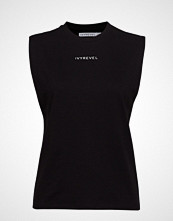 Ivyrevel Boxy Top T-shirts & Tops Sleeveless Svart IVYREVEL