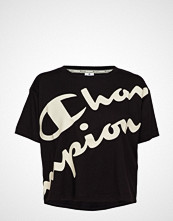 Cènnìs Crop Top T-shirts & Tops Short-sleeved Svart CHAMPION