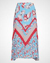 Yas Yasvamilla Pleated Skirt - Da Langt Skjørt Multi/mønstret YAS