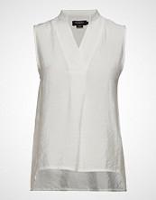 Soaked in Luxury Sl Valora Tank Top Bluse Ermeløs Hvit SOAKED IN LUXURY