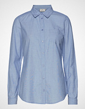 Kaffe Holly Shirt Langermet Skjorte Blå KAFFE