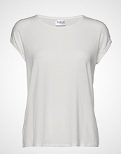 Vero Moda Vmava Plain Ss Top Ga Noos T-shirts & Tops Short-sleeved Hvit VERO MODA