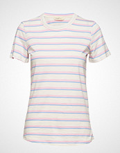 Levete Room Lr-Eika T-shirts & Tops Short-sleeved Rosa LEVETE ROOM
