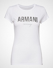 Armani Exchange Woman Jersey T-Shirt T-shirts & Tops Short-sleeved Hvit ARMANI EXCHANGE