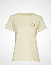Custommade Panita Fire T-shirts & Tops Short-sleeved Creme CUSTOMMADE