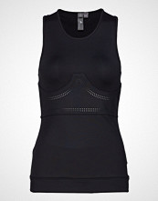 Adidas by Stella McCartney Fitsense+ Tank T-shirts & Tops Sleeveless Svart ADIDAS BY STELLA MCCARTNEY