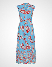 Yas Yasvamilla Ankle Dress - Da Maxikjole Festkjole Blå YAS