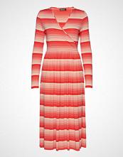 Stine Goya Alina, 623 Light Jersey Knelang Kjole Rød STINE GOYA