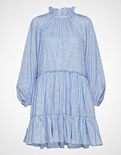3.1 Phillip Lim Ls Striped Aline Mini Dress Kort Kjole Blå 3.1 PHILLIP LIM