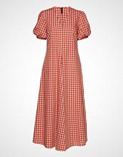 Yas Yasana Ss Long Dress Maxikjole Festkjole Multi/mønstret YAS