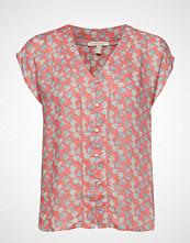Esprit Casual Blouses Woven Bluse Kortermet Rosa ESPRIT CASUAL