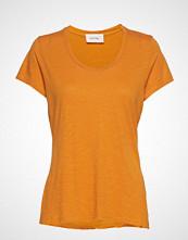 American Vintage Jacksonville T-shirts & Tops Short-sleeved Gul AMERICAN VINTAGE