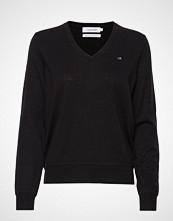 Calvin Klein Lambswool Sweater Strikket Genser Svart CALVIN KLEIN