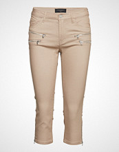 FREE/QUENT Aida-Ca Slim Jeans Beige FREE/QUENT