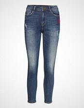 Desigual Denim Tibetan Skinny Jeans Blå DESIGUAL