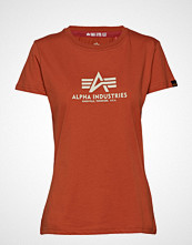 Alpha Industries New Basic T Wmn T-shirts & Tops Short-sleeved Rød ALPHA INDUSTRIES