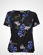 Fransa Beflower 1 Top T-shirts & Tops Short-sleeved Blå FRANSA