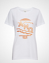 Second Female Amo Tee T-shirts & Tops Short-sleeved Hvit SECOND FEMALE