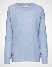 Cream Zoey Knit Pullover Strikket Genser Blå CREAM