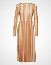 Stine Goya Joel, 463 Light Jersey Knelang Kjole Oransje STINE GOYA