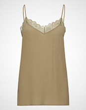 Day Birger et Mikkelsen Day New Fannah Bluse Ermeløs Beige DAY BIRGER ET MIKKELSEN