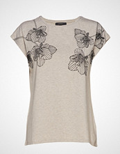 Esprit Collection T-Shirts T-shirts & Tops Short-sleeved Beige ESPRIT COLLECTION