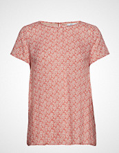 Edc by Esprit Blouses Woven T-shirts & Tops Short-sleeved Rosa EDC BY ESPRIT