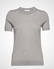 BOSS Business Wear Falyssa T-shirts & Tops Short-sleeved Grå BOSS BUSINESS WEAR