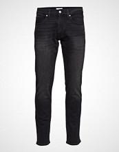 Calvin Klein Slim Comfort Denim - Slim Jeans Svart CALVIN KLEIN