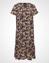 Zizzi Xora, S/S, Lining, Maxi Dress Maxikjole Festkjole Multi/mønstret ZIZZI