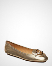 Michael Kors Shoes Lillie Moc Ballerinasko Ballerinaer Gull MICHAEL KORS SHOES