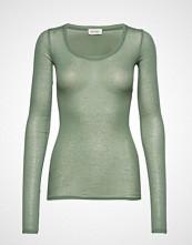 American Vintage Massachusetts T-shirts & Tops Long-sleeved Grønn AMERICAN VINTAGE