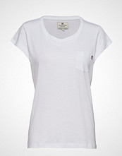 Lexington Clothing Ashley Jersey Tee T-shirts & Tops Short-sleeved Hvit LEXINGTON CLOTHING