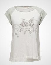 Odd Molly Breather S/S Top T-shirts & Tops Short-sleeved Hvit ODD MOLLY