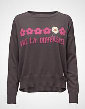 Odd Molly Like Bomb Sweater Strikket Genser Lilla ODD MOLLY
