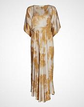Rabens Saloner Cloudy Dress Knelang Kjole Brun RABENS SAL R