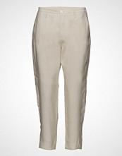 Hope Krissy Trouser Bukser Med Rette Ben Creme HOPE