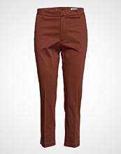 Hope Lobby Trousers Bukser Med Rette Ben Brun HOPE