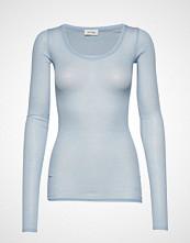 American Vintage Massachusetts T-shirts & Tops Long-sleeved Blå AMERICAN VINTAGE