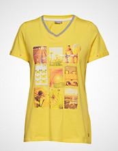 Fransa Frcifruit 2 T-Shirt T-shirts & Tops Short-sleeved Gul FRANSA