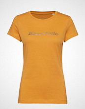 Marc O'Polo T-Shirt Short Sleeve T-shirts & Tops Short-sleeved Gul MARC O'POLO